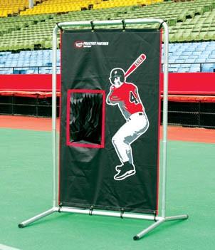 Louisville Slugger Practice Partner Dual Sport Canvas Catcher - SLVDSCF